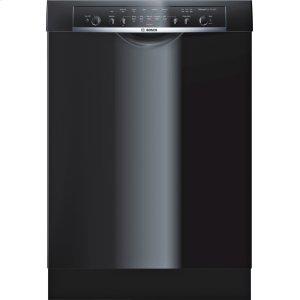 "Bosch24"" DLX Recessed Handle Dishwasher Ascenta- Black SHE3ARL6UC"