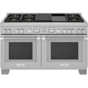 Thermador60-Inch Pro Grand® Commercial Depth Dual Fuel Range