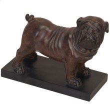 "64681  9.5x4x7.5"" Bulldog Decoration 8EA/CTN"