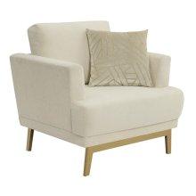 Margot Mid-century Modern Beige Chair