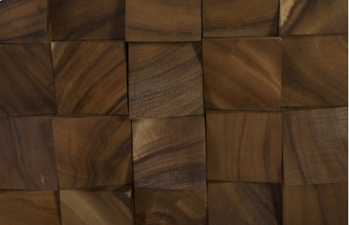 Wood Blocks Wall Tile, Natural , SM