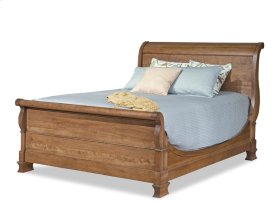 King Master Sleigh Bed