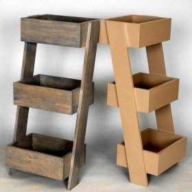 """#527 Leaning Shelf 28""""wx20""""dx39""""h"""
