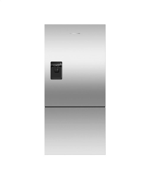 Counter Depth Refrigerator 17.5 cu ft, Ice & Water