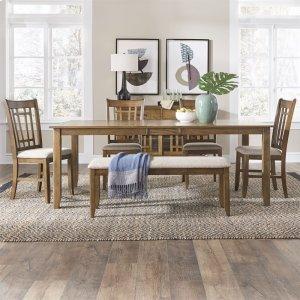 Liberty Furniture Industries6 Piece Rectangular Table Set