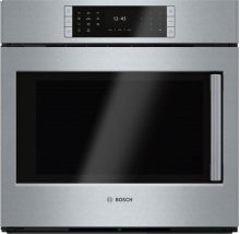"Benchmark® 30"" Single Wall Oven Left SideOpening Door, HBLP451LUC, Stainless Steel"