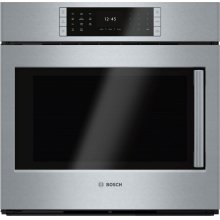 Benchmark® built-in oven 30'' Stainless steel, Door hinge: Left HBLP451LUC