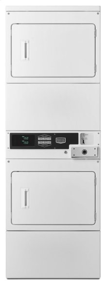 Commercial Electric Super-Capacity Stack Dryer, Coin-Drop-Ready