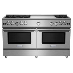 "Bluestar60"" RNB Series Range with 24"" Griddle"