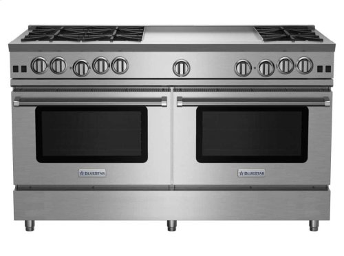 """60"""" RNB Series Range with 24"""" Griddle"""