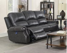 EM1196 Collection - Dual Reclining Sofa with Power Headrest