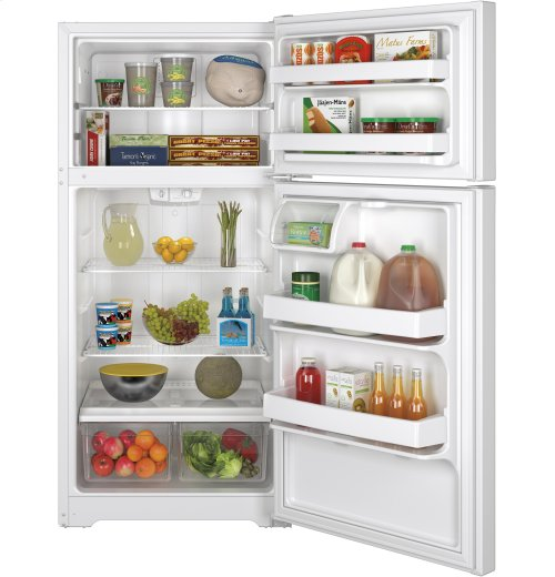 GE® 14.6 Cu. Ft. Top-Freezer Refrigerator