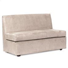 Slipper Loveseat Bella Sand