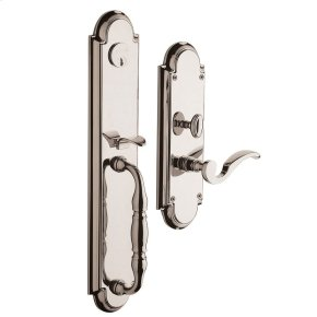 Polished Nickel with Lifetime Finish Hamilton Entrance Set