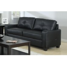 Jasmine Casual Black Sofa