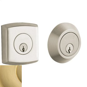 Satin Brass Soho Deadbolt