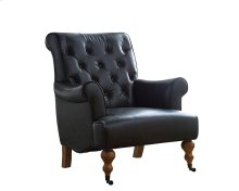 Old Saddle Black Landmark Accent Chair
