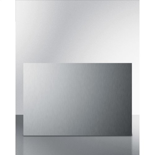 Summit B36ss Is A 36 Inch Wide By 24 Inch High Backsplash In Stainless Steel