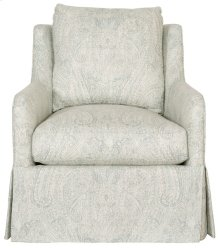 Fisher Waterfall Skirt Chair V922W-CH