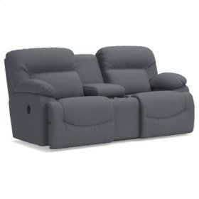 Asher La-Z-Time® Full Reclining Loveseat w/ Console