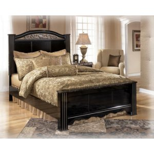 Ashley Furniture Constellations - Black 3 Piece Bed Set (King)