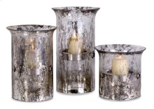 Mercury Candleholders - Set of 3