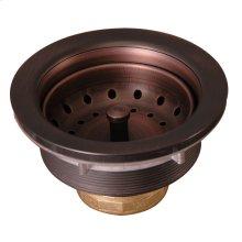 """Kitchen Sink Drain - 3-1/2"""" - Antique Copper"""