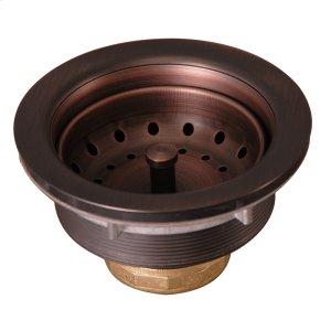 """Kitchen Sink Drain - 3-1/2"""" - Antique Copper Product Image"""
