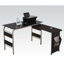 Computer Desk W/bk Glass