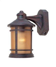 "7"" Wall Lantern - 3-in-1 Motion Detector in Mediterranean Patina"