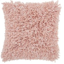 "Shag Tl050 Rose 20"" X 20"" Throw Pillows"
