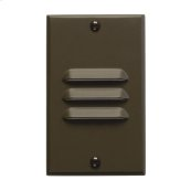 LED Step Light Vertical Louver AZ