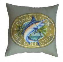 Bill Collector Throw Pillow