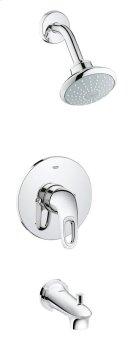 Eurostyle Pressure Balance Valve Bathtub/Shower Combo Faucet Product Image