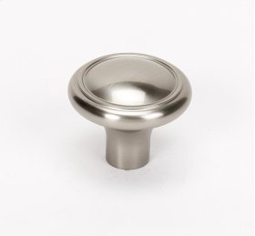 Classic Traditional Knob A1562 - Satin Nickel