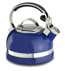 KitchenAid 2.0-Quart Kettle with Full Stainless Steel Handle and Trim Band - Doulton Blue