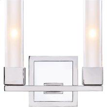 Visual Comfort S2155PN-CG Ian K. Fowler Kendal 2 Light 9 inch Polished Nickel Decorative Wall Light