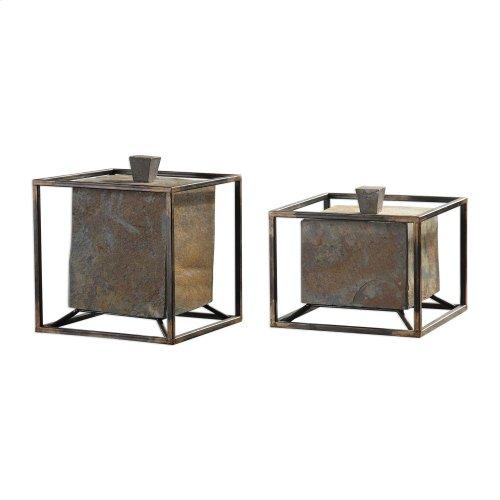 Slate Cube, Boxes, S/2