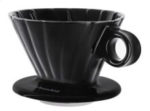 2 Cup Pour Over Cone - Onyx Black