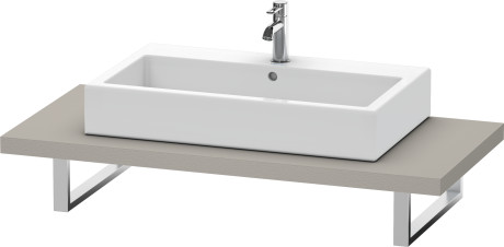 Console For Above-counter Basin And Vanity Basin, Terra (decor)