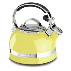 2.0-Quart Kettle with Full Stainless Steel Handle and Trim Band - Citrus Sunrise