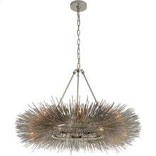 Visual Comfort KW5181PN Kelly Wearstler Strada 16 Light 40 inch Polished Nickel Chandelier Ceiling Light
