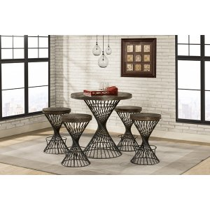 Hillsdale FurnitureKanister Counter Height 5 Piece Dining Set