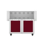 "Hestan36"" Hestan Outdoor Tower Cart with Double Doors - GCD Series - Tin-roof"