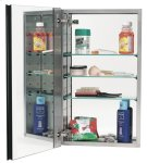 Mirror Cabinet MC20244 - Stainless Steel Product Image