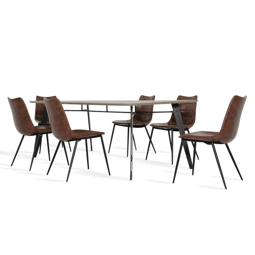 Modrest Claw & Gilliam Modern Dining Set