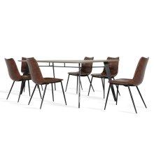 Modrest Claw & Gilliam Modern Dining Set
