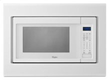 "30"" Microwave Trim Kit - White"