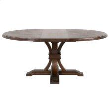 """Devon 54"""" Round Extension Dining Table"""
