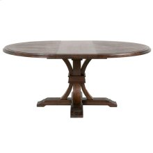 "Devon 54"" Round Extension Dining Table"